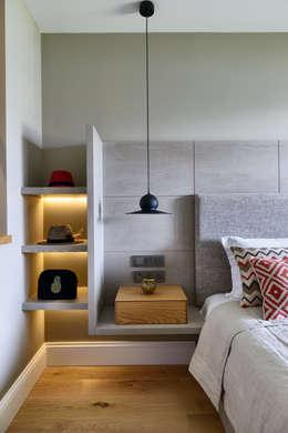 modern Bedroom by Esra Kazmirci Mimarlik