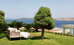 Projekty,  Ogród zaprojektowane przez Esra Kazmirci Mimarlik