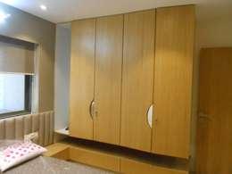 GAUTAMBHAI JAHANGIRPURA: modern Bedroom by SHUBHAM CONSULTANT & INTERIOR DESIGNING