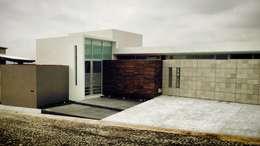 JAOSVA: Casas de estilo moderno por Micheas Arquitectos