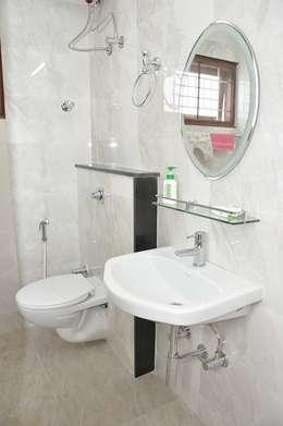 Bathroom designs: asian Bathroom by Scale Inch Pvt. Ltd.