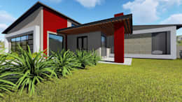 House Ruu - Venda Thohoyandou: modern Houses by Blackstructure Architects