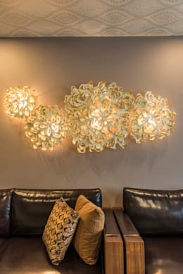 Living Room Close-up: modern Living room by Studio An-V-Thot Architects Pvt. Ltd.