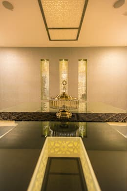Dining Area: modern Dining room by Studio An-V-Thot Architects Pvt. Ltd.