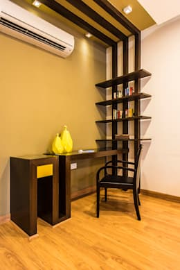 Bedroom-3 Study: modern Bedroom by Studio An-V-Thot Architects Pvt. Ltd.