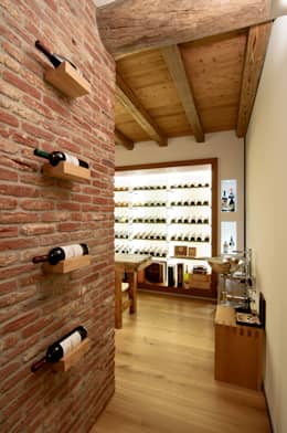 modern Wine cellar by STIMAMIGLIO conceptluxurydesign