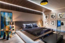 Suite Master: Quartos  por juliano burali arquitetura