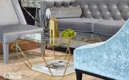 modern Living room by PRIMAVERA HOME
