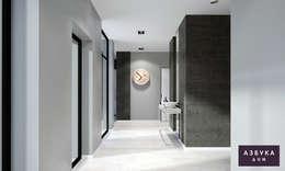 Corridor & hallway by Студия дизайна 'Азбука Дом'