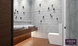 minimalistic Bathroom by Студия дизайна 'Азбука Дом'