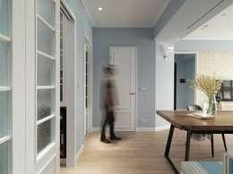 غرفة السفرة تنفيذ 木皆空間設計