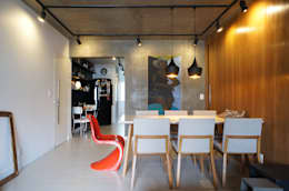 Comedores de estilo moderno por Lelalo - arquitetura e design