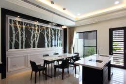 classic Dining room by 澤田工程/留名堂室內設計