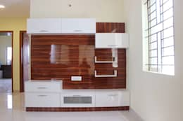 TV Unit Online: asian Living room by Scale Inch Pvt. Ltd.