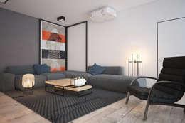 Интерьер гостиной. Современный дом: Гостиная в . Автор – Zooi