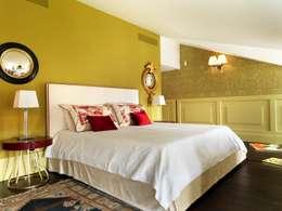 غرفة نوم تنفيذ Daniele Franzoni Interior Designer - Architetto d'Interni