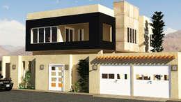 Sueño : Casas de estilo minimalista por Construcciones y diseños Brihjha