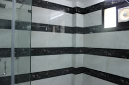 Full house Architecture & Interior Designing: modern Bathroom by Prodigy Designs