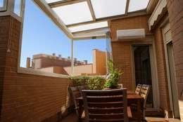 Terrazas de estilo  por Fraimar Aluminios S.L.