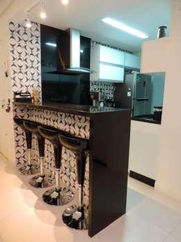 Apartamento AD: Cozinhas modernas por Escritório 238 Arquitetura