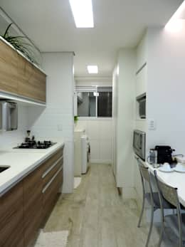 Apartamento LP: Cozinhas modernas por Escritório 238 Arquitetura