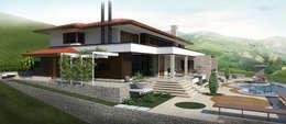 房子 by UNICA Arquitetura