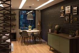 Casa AR: Comedores de estilo moderno por ARCO Arquitectura Contemporánea