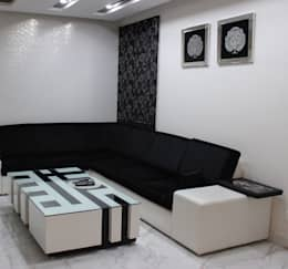 Residential Design: modern Living room by Prodigy Designs