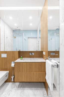 modern Bathroom by Ayuko Studio