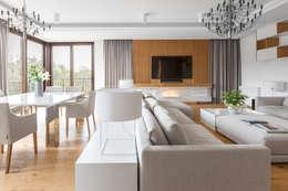 modern Living room by Ayuko Studio