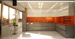 VERO CONCEPT MİMARLIK – Hande Hanım Konut: modern tarz Mutfak