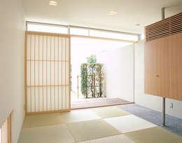 吉田の住宅: アトリエ環 建築設計事務所が手掛けた和室です。