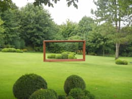 Projekty,  Ogród zaprojektowane przez 2kn architekt + landschaftsarchitekt Thorsten Kasel + Sven Marcus Neu PartSchG