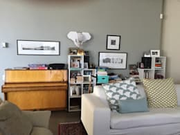 Living Room - Before:   by Turquoise