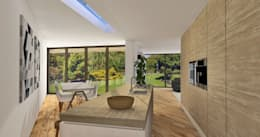 Villa Rijsbergen: moderne Keuken door Schneijderberg Architectuur & Design
