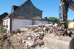 ... und abgerissen.: rustikale Häuser von 2kn architekt + landschaftsarchitekt Thorsten Kasel + Sven Marcus Neu PartSchG