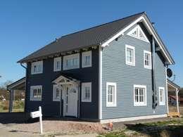 Eingangsbereich: skandinavische Häuser von Skan-Hus GmbH