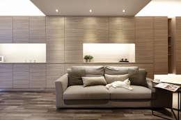 scandinavian Living room by 耀昀創意設計有限公司/Alfonso Ideas