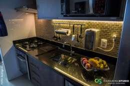 rustic Kitchen by Camarina Studio