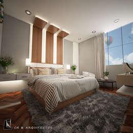 DISEÑO Y DECORACIÓN DE INTERIORES: Dormitorios de estilo  por CN y Arquitectos