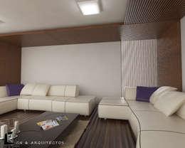 SALA DE ESPERA: Hogar de estilo  por CN y Arquitectos