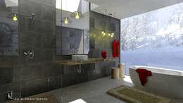 DISEÑO DE INTERIORES - BAÑO PRINCIPAL: Baños de estilo moderno por CN y Arquitectos