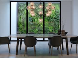 Remodelación interior: Comedores de estilo moderno por MG estudio de arquitectura