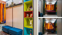 compact living: modern Nursery/kid's room by The Red Brick Wall