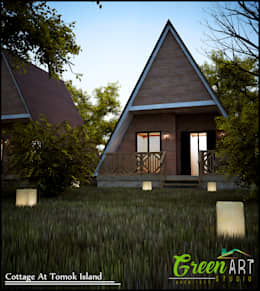 Cottage Tomok Island:   by GreenArt Studio