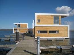 floating architecture - WKH 100 : moderne Häuser von büro13 architekten
