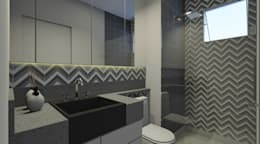 modern Bathroom by Espaco AU