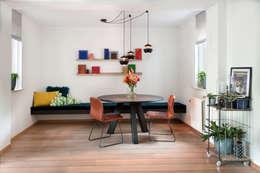 Ruang Keluarga by IJzersterk interieurontwerp