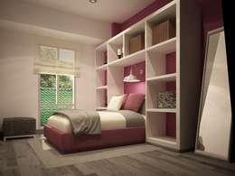 Habitaciones de estilo moderno por Zono Interieur