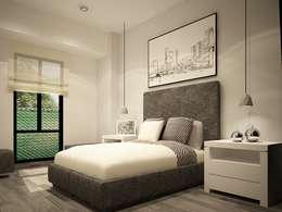 Diseño de recámaras: Recámaras de estilo moderno por Zono Interieur
